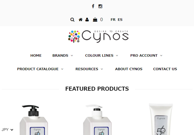 Cynos Inc. | Providing luxury hair products to barbers & salons!キャプチャー